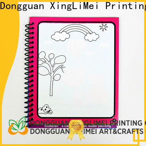 XingLiMei animal watercolor coloring book Supply for interaction