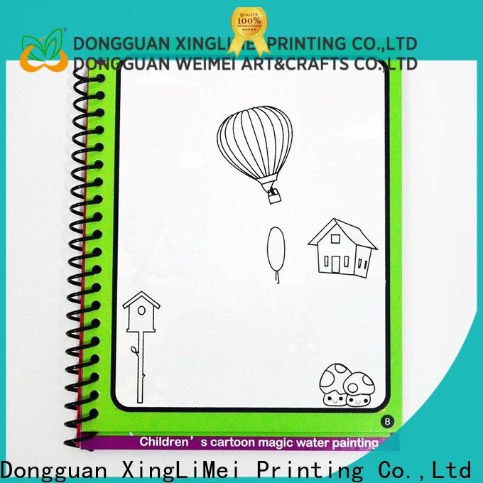 XingLiMei educational watercolor coloring book company for interaction