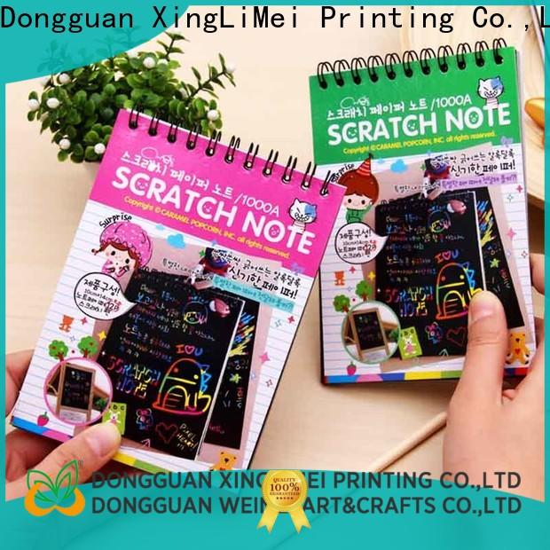 XingLiMei Latest magic color scratch paper manufacturers for school
