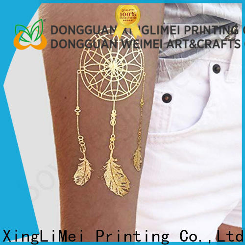 XingLiMei temporary temporary jewelry tattoos shipped to business for face
