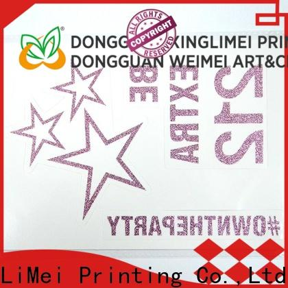 XingLiMei New printing temporary tattoos company for shops