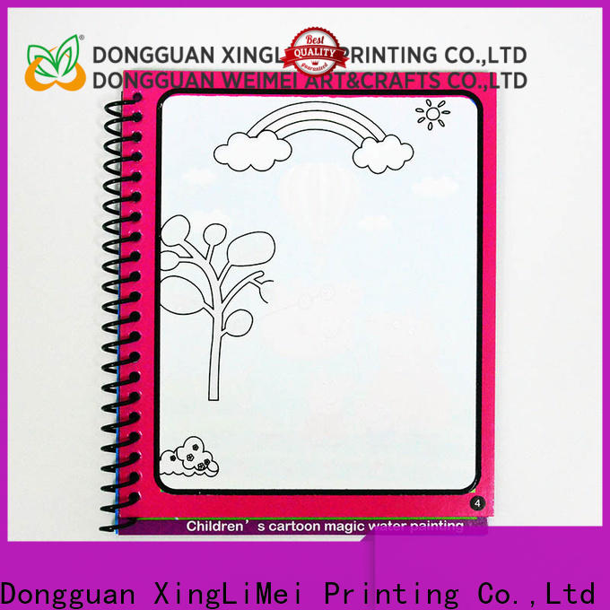 XingLiMei New magic water colouring book factory for lesson