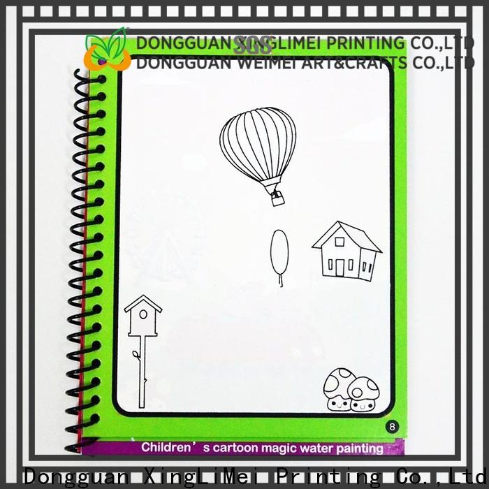 Latest magic water colouring book educational manufacturers for family