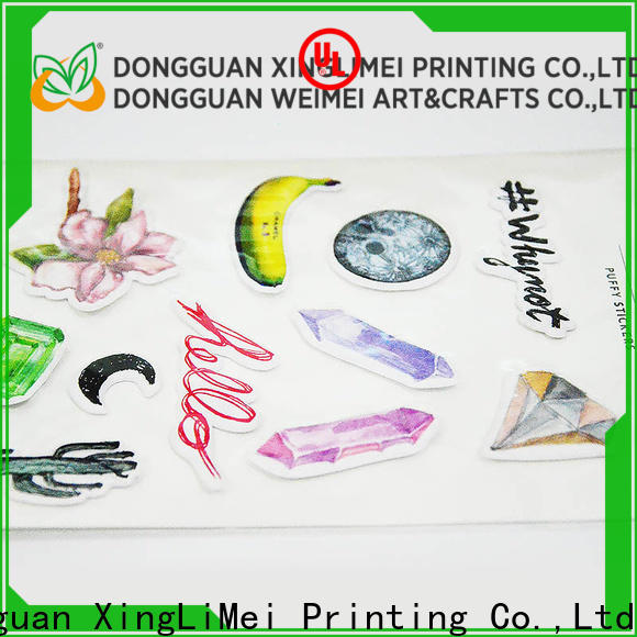 XingLiMei puffy custom puffy stickers company for Floor