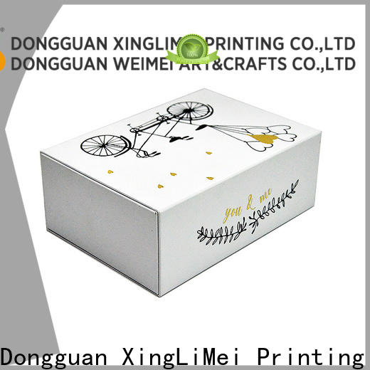 XingLiMei drawer customized gift box company for party