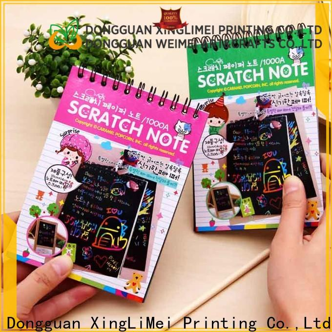 XingLiMei art magic scratch paper Suppliers for family