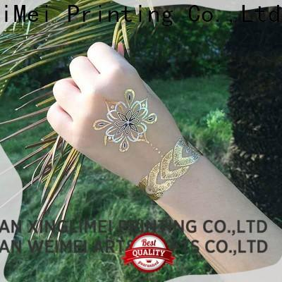 XingLiMei Wholesale metallic jewelry tattoos shipped to business for make up
