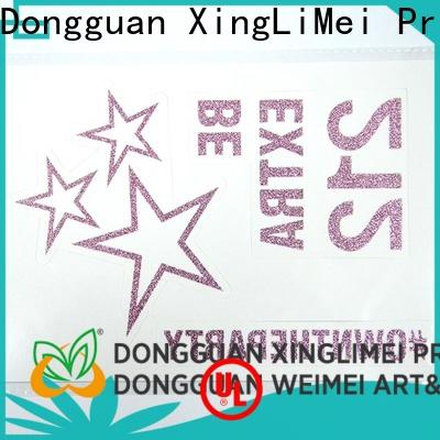 XingLiMei perfume custom made temporary tattoos Supply for hands