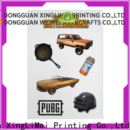 XingLiMei High-quality custom puffy stickers factory for bumper
