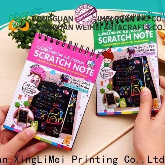XingLiMei Custom magic scratch paper Suppliers for lesson