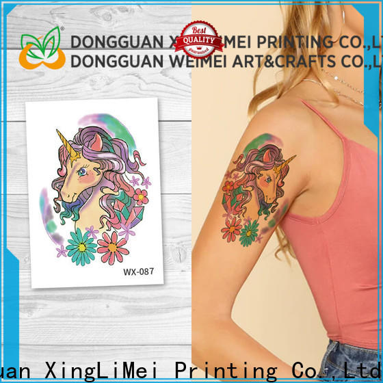 XingLiMei animal non-toxic temporary tattoos Suppliers for beauty