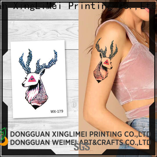 XingLiMei New adult tattoos Supply for wedding