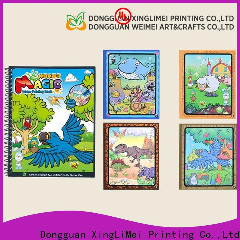 XingLiMei childrens water safety coloring book factory for interaction
