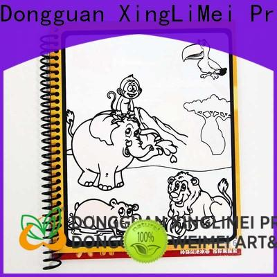 XingLiMei painting magic water colouring book company for family