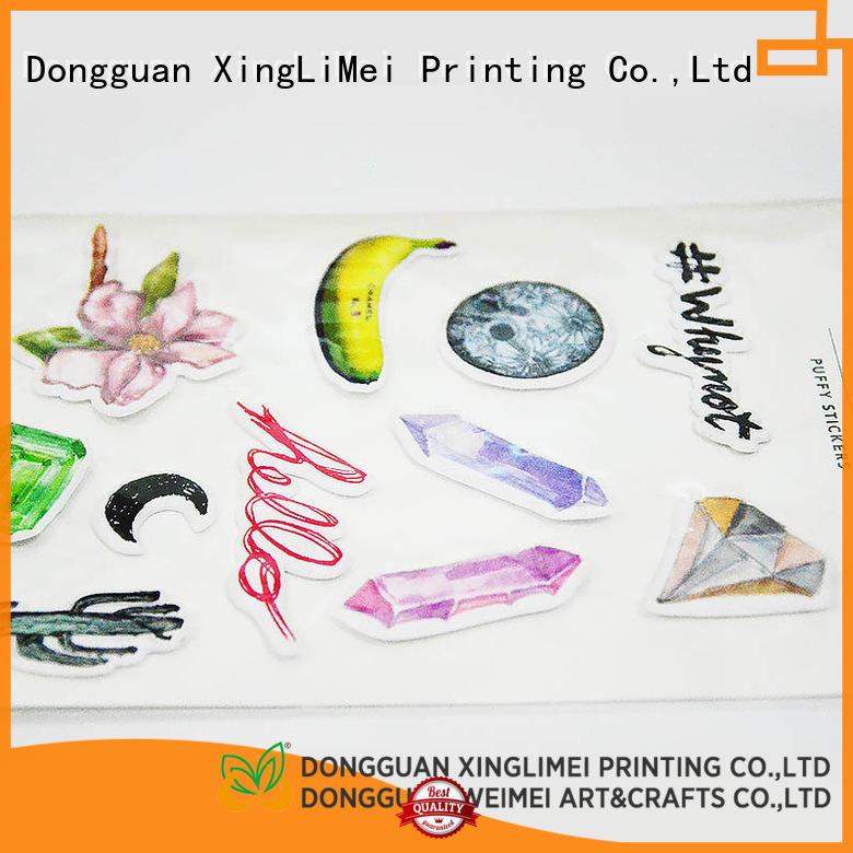 XingLiMei decorative custom made stickers creator for Laptop