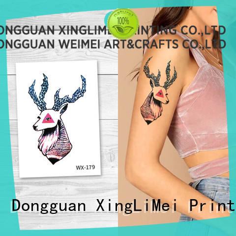 XingLiMei non-toxic temporary tattoos for women for beauty