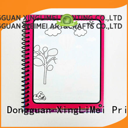 XingLiMei books reusable water coloring book tutorial for interaction