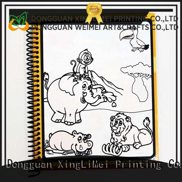 XingLiMei modern publishing paint with water coloring books supplies lesson