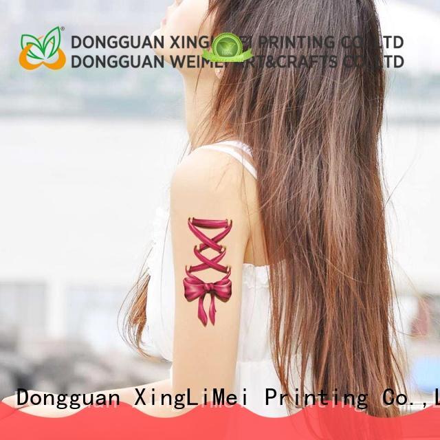 XingLiMei geometric printing temporary tattoos factory for wedding