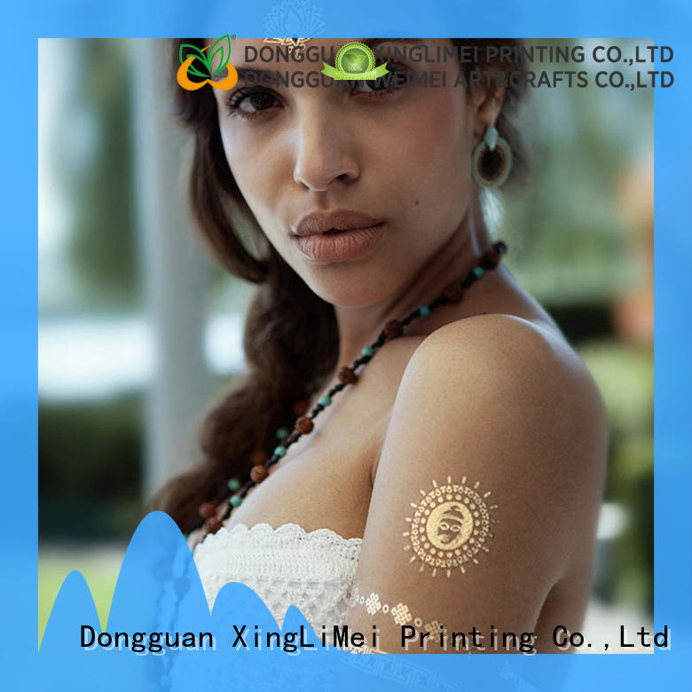 XingLiMei cosmetic temporary jewelry tattoos supplier for wedding