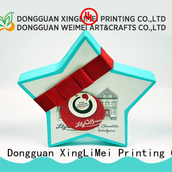 customized packaging printing christmas for party