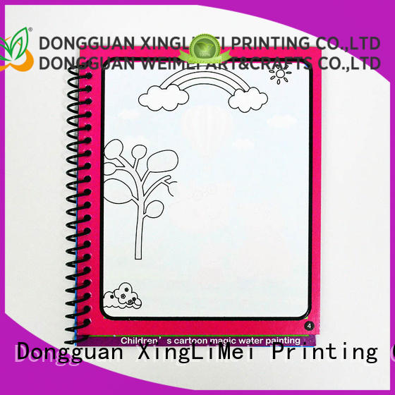 XingLiMei childrens magic water coloring book for kids for family