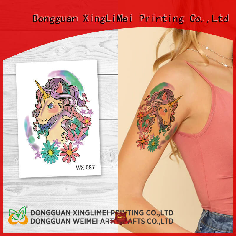 XingLiMei adult artificial tattoo factory price for beauty