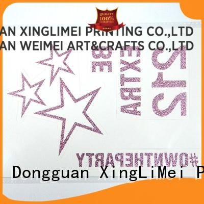 XingLiMei girl custom temporary tattoos stickers for shops