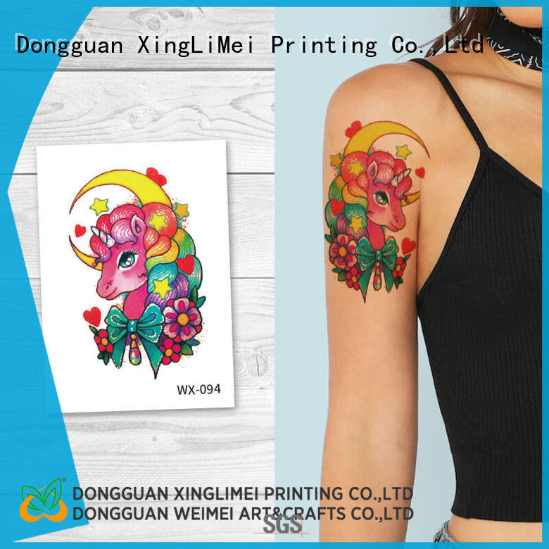 XingLiMei fashion adult tattoos for girls for wedding
