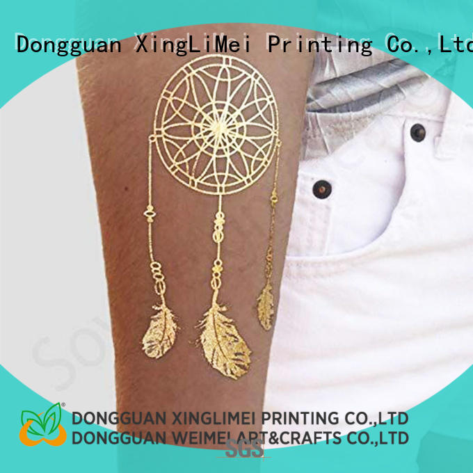 XingLiMei transfer temporary jewelry tattoos artist for face