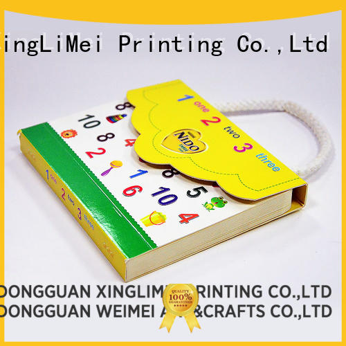 XingLiMei customized professional book printing directly sale for school