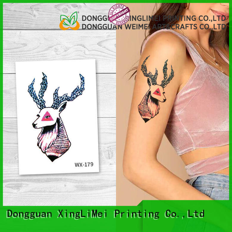 XingLiMei wx178 adult tattoos for girls for wedding