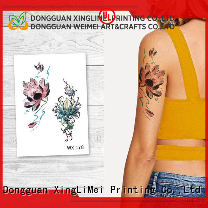 XingLiMei wx089 art temporary tattoos prices for beauty