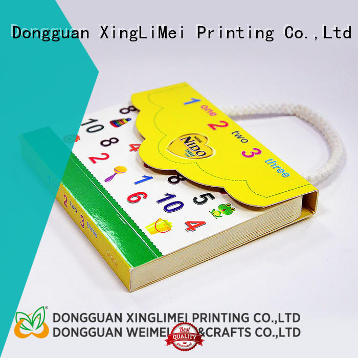 XingLiMei customized notebook printing for travel for family