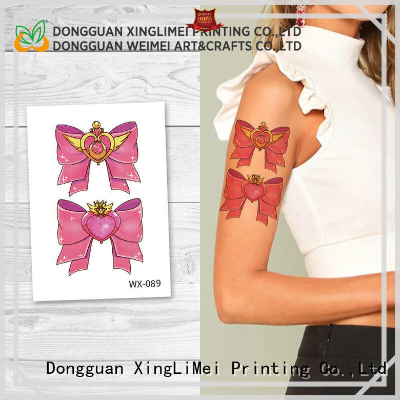 XingLiMei tattoos artificial tattoo factory price for beauty