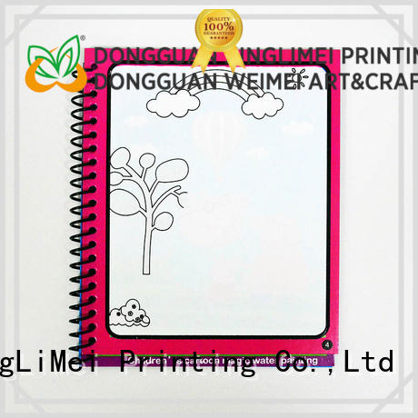 XingLiMei books magic water coloring book tutorial for interaction