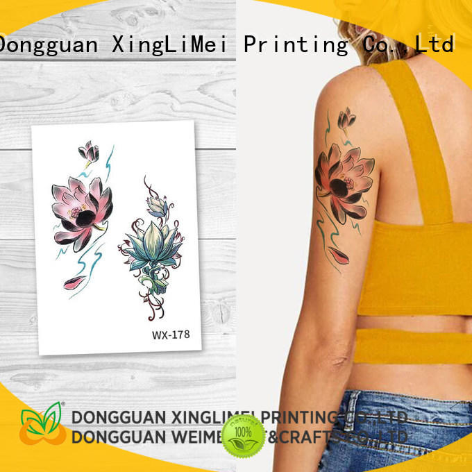XingLiMei personalized artificial tattoo for adult for beauty