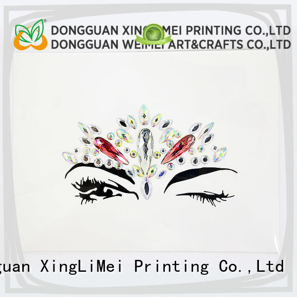 XingLiMei adhesive custom made stickers labels for bumper