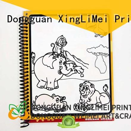 XingLiMei magic watercolor coloring book for toddlers for lesson