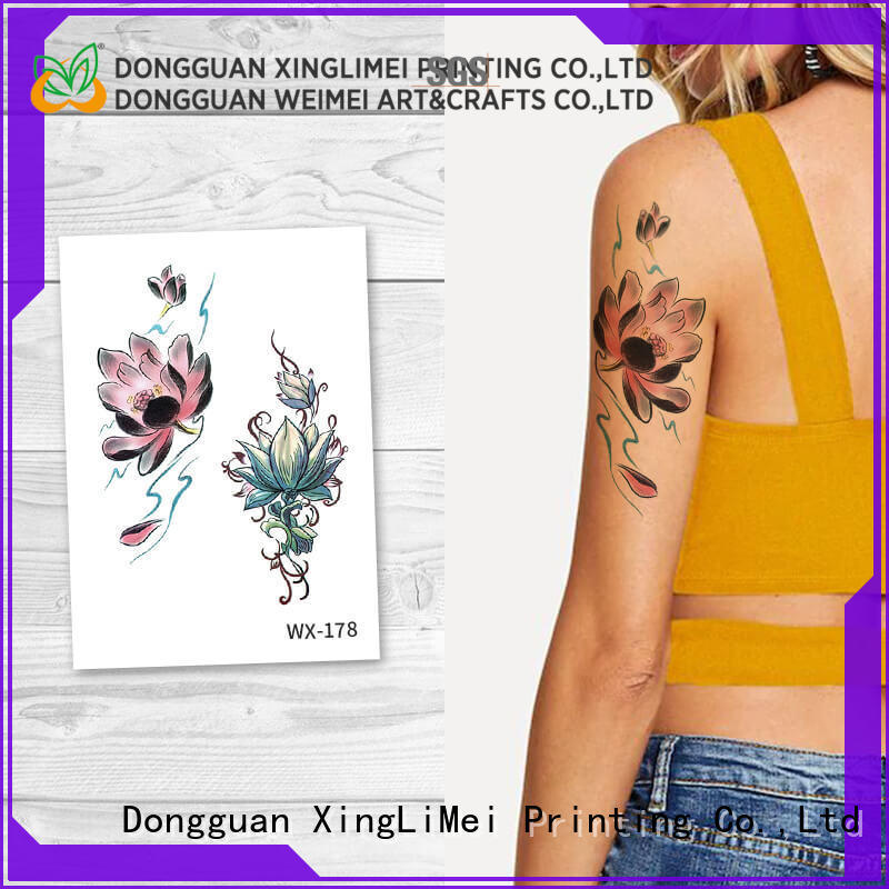 XingLiMei forearm non-toxic temporary tattoos prices for wedding