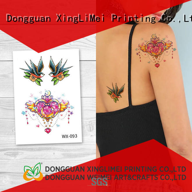 XingLiMei personalized sexy temporary tattoos for girls for party
