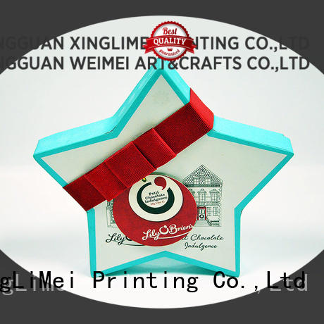 XingLiMei high quality custom printed boxes festival for wedding