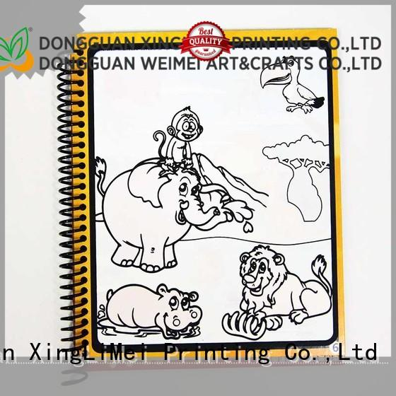 XingLiMei design reusable water coloring book supplies for family