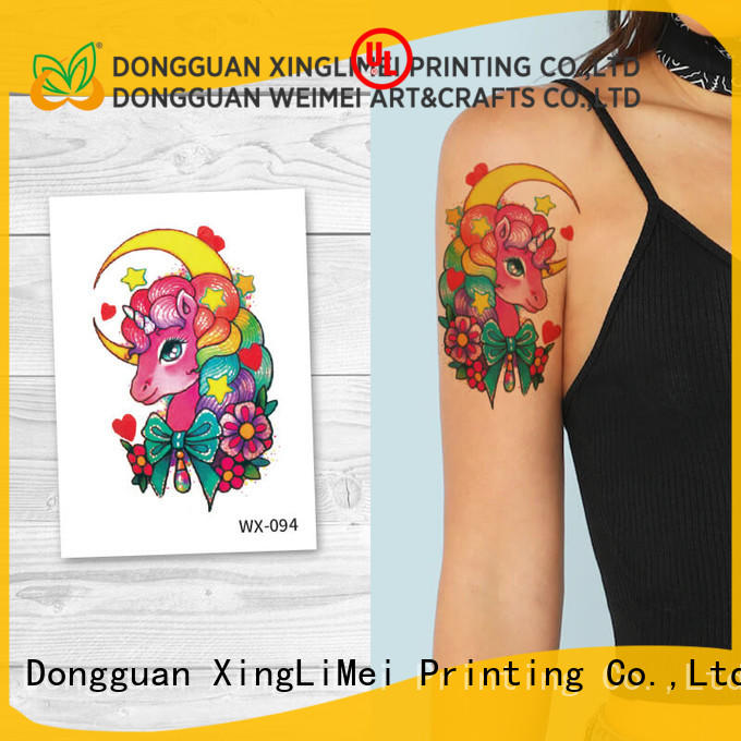 XingLiMei back color temporary tattoos for women for wedding