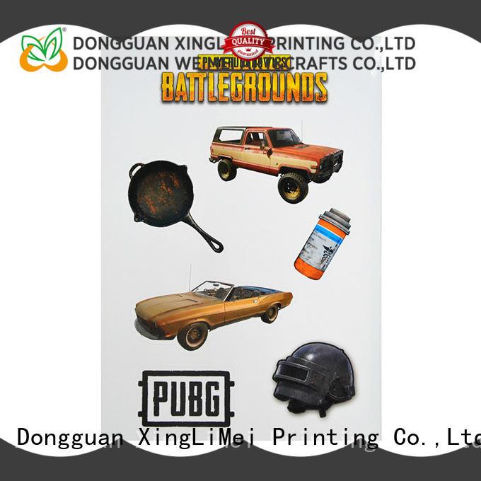 XingLiMei decorative stickers printing creator for Skateboard