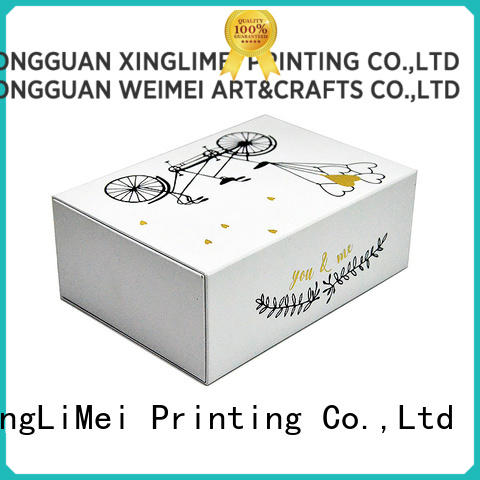 gift custom packaging boxes logo for gift XingLiMei