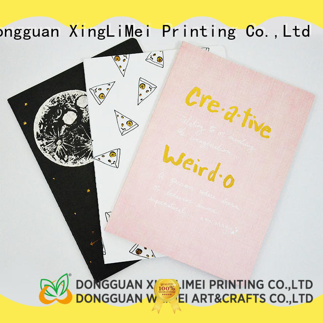 full color custom brochure printing notebook directly sale for business
