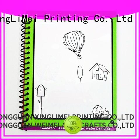 XingLiMei water magic water coloring book tutorial for school