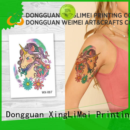 fake artificial tattoo floral for girls for beauty