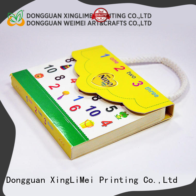 funny professional book printing metallic for business XingLiMei